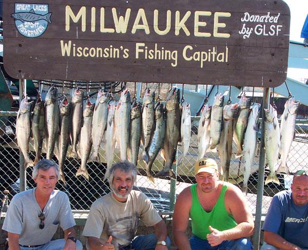 Dcp 0332 maritime fishing charters for Milwaukee charter fishing